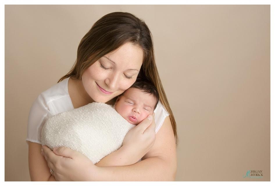 Richmond Hill Newborn Photographer|www.meganmyrickphotography.com|Baby J.