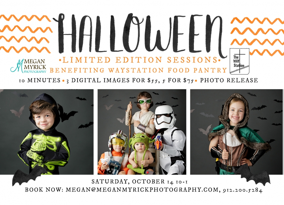 Limited Edition Halloween Sessions | Megan Myrick Photography | www.meganmyrickphotography.com
