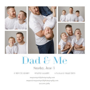 Dad & Me|Megan Myrick Photography|www.meganmyrickphotography.com